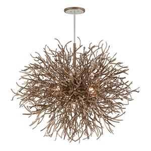 Sierra Distressed Bronze 12-Light Pendant