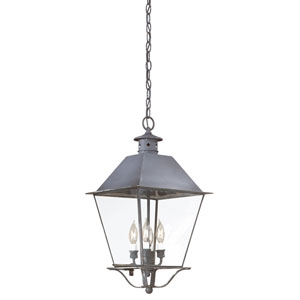 Montgomery Charred Iron Four-Light Outdoor Hanging Lantern