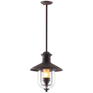 Old Town Large Outdoor Pendant