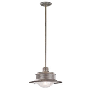 Old Rust South Street Medium One-Light Hanging Downlight Pendant