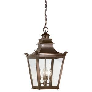 Dorchester Four-Light Outdoor Pendant