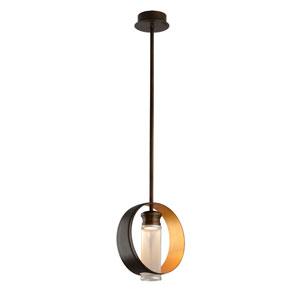 Insight Modern Bronze 12-Inch One-Light LED Pendant