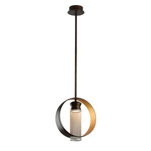 Insight Modern Bronze 16-Inch One-Light LED Pendant