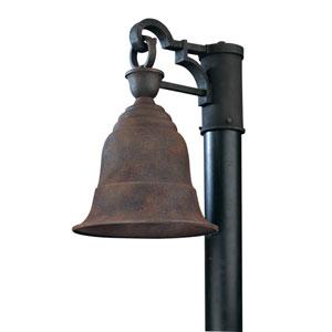 Liberty Centennial Rust One-Light Dark Sky Outdoor Post Mount
