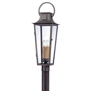 Aged Pewter French Quarter Four-Light Post Mount