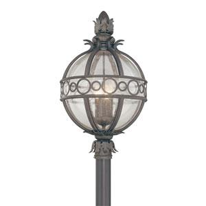 Campanile  Bronze Four-Light Outdoor Post Lantern