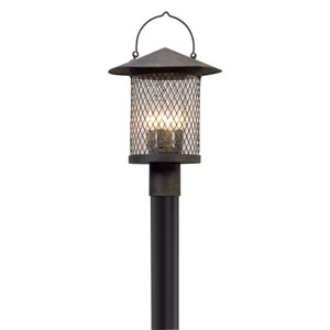 Altamont French Iron Four-Light Outdoor Post Mount