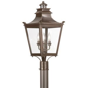 Dorchester Three-Light Outdoor Post Mount
