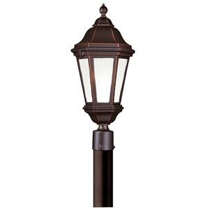 Verona Fluorescent Antique Bronze Exterior Post Light