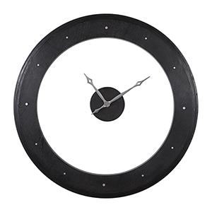 Ramon Black and Gray Wall Clock