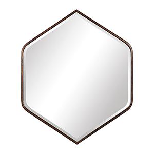 Magda Bronze Mirror