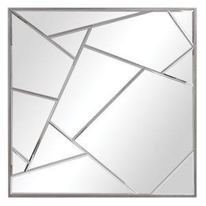 Beria Silver Leaf Wall Mirror