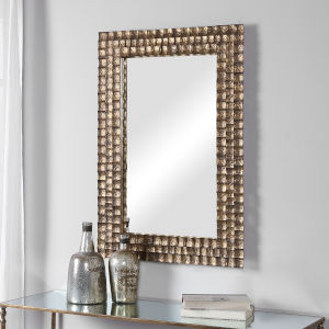 Ramya Antique Gold Wall Mirror