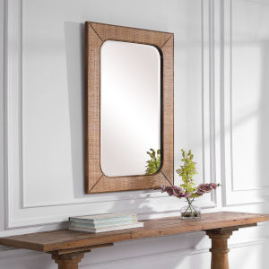 Tahiti Warm Maple Mirror