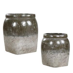 Rocia Gray Ceramic Bowl, Set of 2