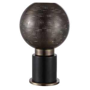 Branham Dark Bronze Globe Candle Holder