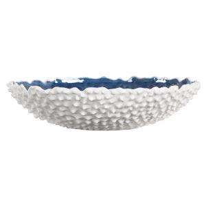 Ciji White Ceramic Bowl