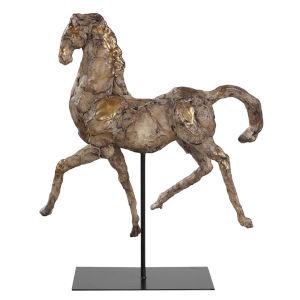 Caballo Natural 14-Inch Horse Sculpture