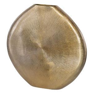 Gretchen Gold 23-Inch Vase