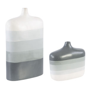 Guevara Gray Vases, Set of 2