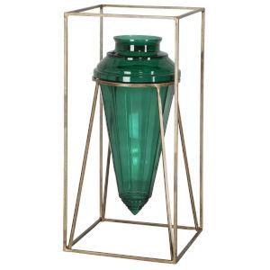 Ariga Emerald Vase