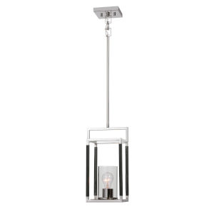 Newburgh Polished Nickel One-Light Mini Pendant