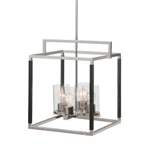 Newburgh Polished Nickel Four-Light Pendant