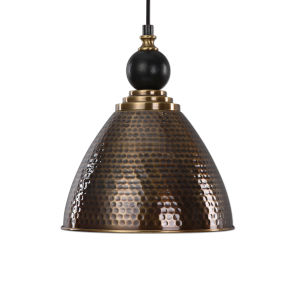 Adastra Brass One-Light Pendant