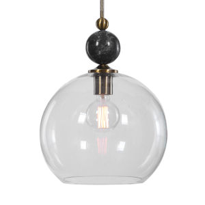 Mendota Clear 1-Light Pendant
