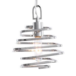 Coillir Silver 1-Light Mini Pendant