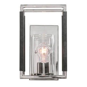 Newburgh Polished Nickel One-Light Wall Sconce