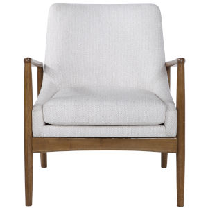 Bev White 27-Inch Arm Chair