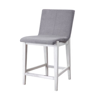 Brazos Aged White Counter Stool
