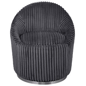Crue Gray Swivel Chair