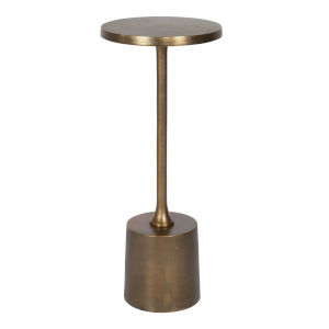 Sanaga Antique Gold End Table