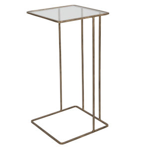 Cadmus Antique Gold End Table