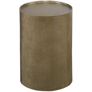 Adrina Antique Gold Accent Table