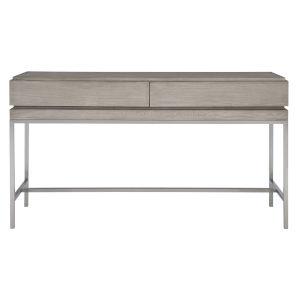 Kamala Mushroom Gray Console Table