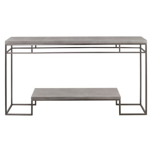 Clea Gray Console Table