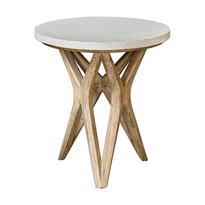 Marnie White and Woodtone Accent Table