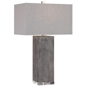 Vilano Aged Brown Table Lamp
