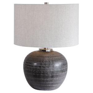 Mikkel Brushed Nickel Table Lamp