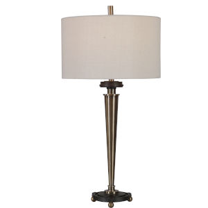 Osten Antique Brushed Brass Table Lamp