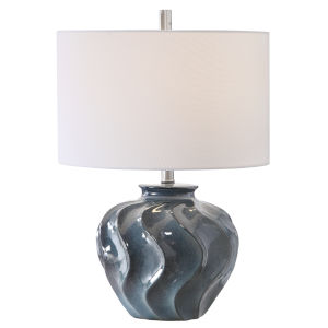 Aquilina Blue Table Lamp