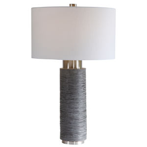 Strathmore Brushed Nickel Table Lamp