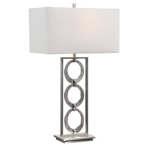 Perrin Nickel 1-Light Table Lamp