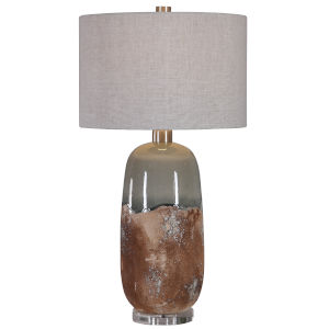 Maggie Brushed Nickel Table Lamp