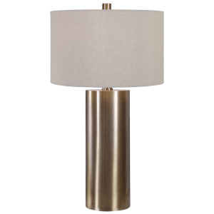 Taria Antique Brushed Brass Table Lamp