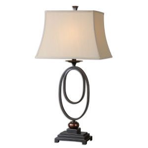 Orienta Bronze One-Light Table Lamp, Set of 2