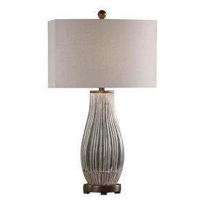 Katerini Gray One-Light Table Lamp, Set of 2